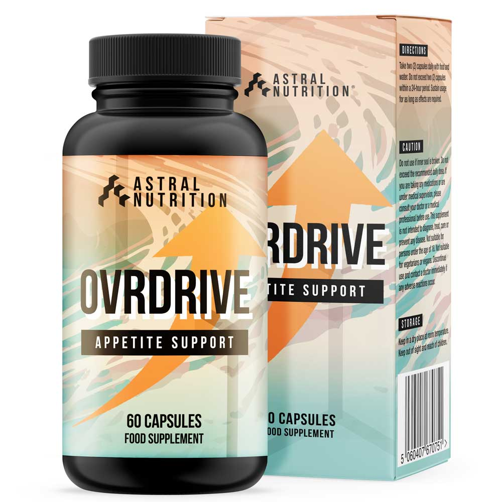 Ovrdrive Appetite Support Formula Product Image